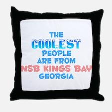Coolest: NSB Kings Bay, GA Throw Pillow