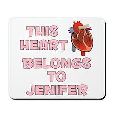 This Heart: Jenifer (C) Mousepad