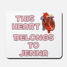 This Heart: Jenna (C) Mousepad