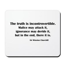 Churchill's Truth Mousepad