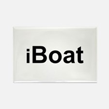 iBoat Rectangle Magnet