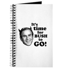 Time For Bush To Go! Journal