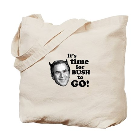 Time For Bush To Go! Tote Bag