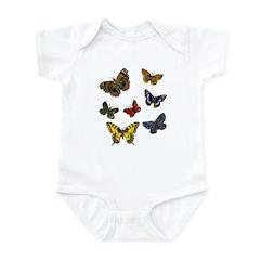 Butterfly 9 Infant Bodysuit
