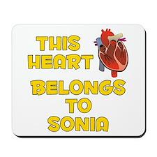This Heart: Sonia (A) Mousepad