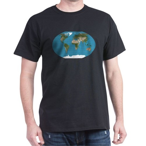 Map of Earth T-Shirt