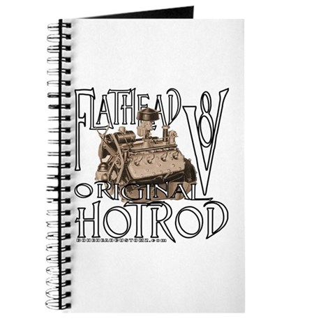 FLATHEAD V8 WHITE Journal