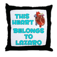 This Heart: Lazaro (B) Throw Pillow