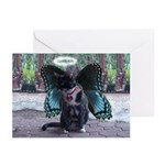 Fairy Kitty-Angel Greeting Cards (Pk of 10)
