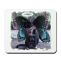Fairy Kitty-Angel Mousepad