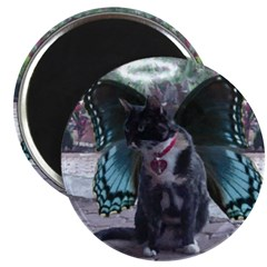 Fairy Kitty-Angel Magnet