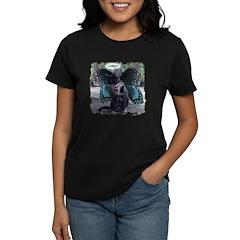 Fairy Kitty-Angel Women's Dark T-Shirt