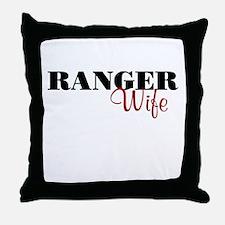 Ranger Wife Throw Pillow