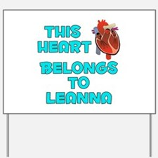 This Heart: Leanna (B) Yard Sign