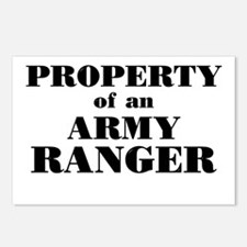Property of an Army Ranger Postcards (Package of 8