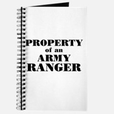 Property of an Army Ranger Journal