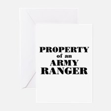 Property of an Army Ranger Greeting Cards (6)