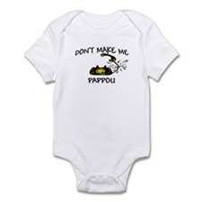 Call Pappou with Black Phone Infant Bodysuit