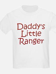 Daddy's Little Ranger Kids T-Shirt
