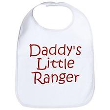 Daddy's Little Ranger Bib