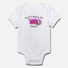 Call Pappou with Pink Phone Infant Bodysuit