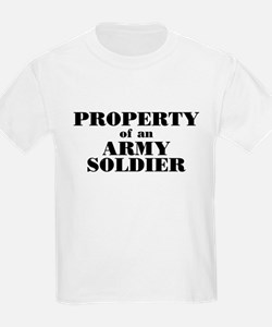 Property of an Army Soldier Kids T-Shirt
