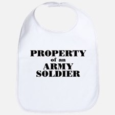 Property of an Army Soldier Bib