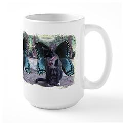 Fairy Kitty-Angel Large Mug
