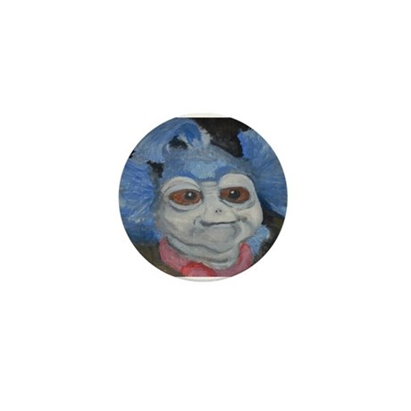 Labyrinth Worm Fan Art Button