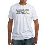 Bicycle Limerick Fitted T-Shirt