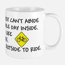 Bicycle Limerick Mug