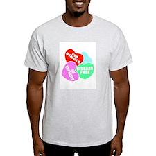 I'M SINGLE CANDY HEARTS T-Shirt