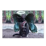 Fairy Kitty-Angel Postcards (Package of 8)
