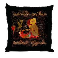 """""""Secret Garden"""" Throw Pillow"""