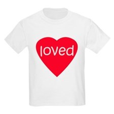 Red Loved T-Shirt