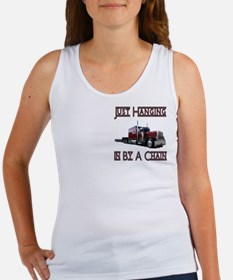 Just Hanging By A Chain Women's Tank Top