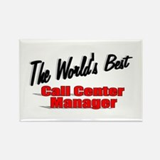 """The World's Best Call Center Manager"" Rectangle M"