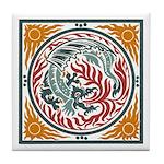 Lucky Chinese Dragon Tile Coaster