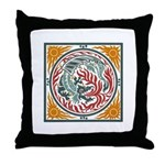Lucky Chinese Dragon Throw Pillow
