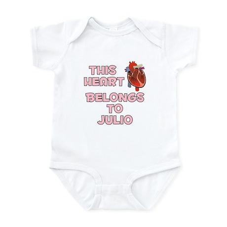 This Heart: Julio (C) Infant Bodysuit