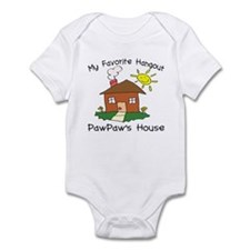 Favorite Hangout PawPaw's Hou Infant Bodysuit