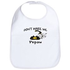 Call Pepaw with Black Phone Bib