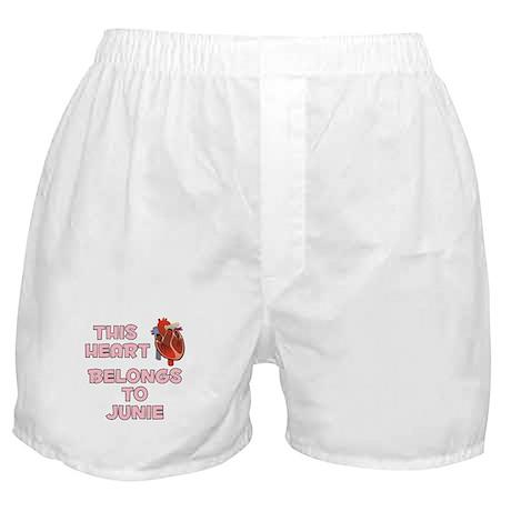 This Heart: Junie (C) Boxer Shorts