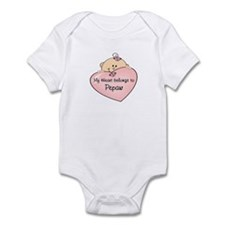 Heart Belongs to Pepaw Infant Bodysuit