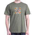 Lucky Chinese Dragon Dark T-Shirt