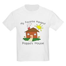 Favorite Hangout Poppa's Hous T-Shirt