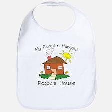 Favorite Hangout Poppa's Hous Bib