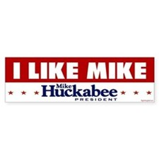 I Like Mike! Bumper Bumper Sticker