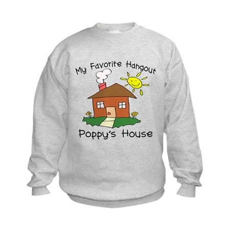 Favorite Hangout Poppy's Kids Sweatshirt