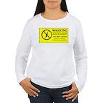 Static Cling Women's Long Sleeve T-Shirt